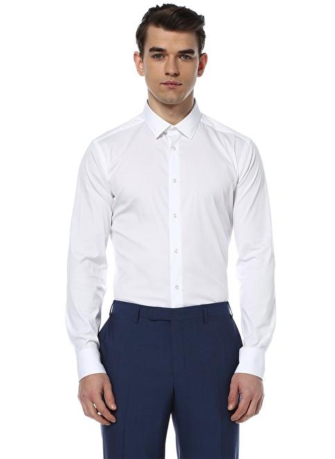Corneliani Klasik Gömlek Beyaz